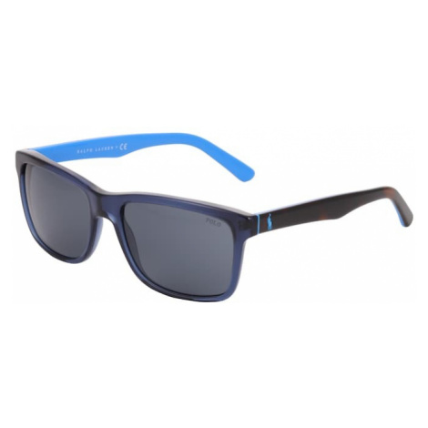 POLO RALPH LAUREN Okulary przeciwsłoneczne niebieski / brązowy