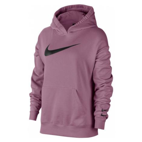 Nike NSW SWSH HOODIE FT W fioletowy XS - Bluza damska
