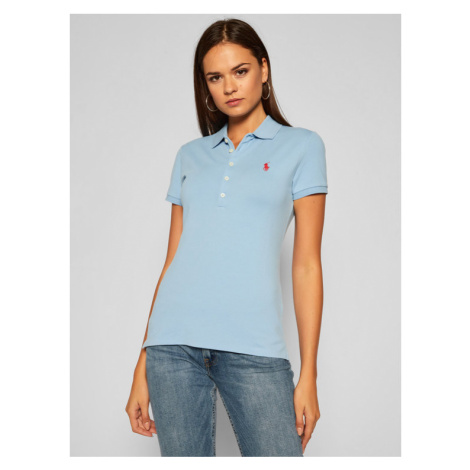 Polo Ralph Lauren Polo Julie 211505654139 Niebieski Slim Fit