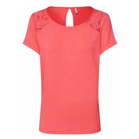 ONLY Koszulka czerwony