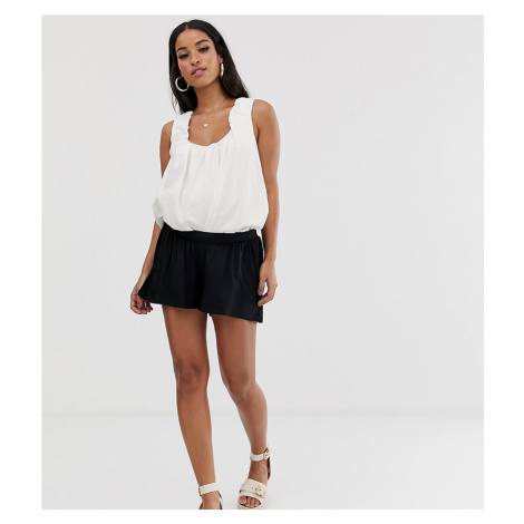 ASOS DESIGN Maternity under the bump culotte shorts