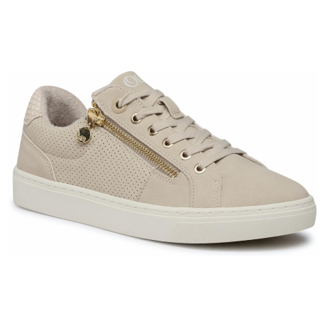 Sneakersy S.OLIVER - 5-23610-36 Beige Comb 410