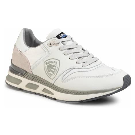 Sneakersy BLAUER - S0HILO01/CAL White