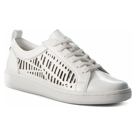 Sneakersy CALVIN KLEIN - Denise E5593 Platinum White