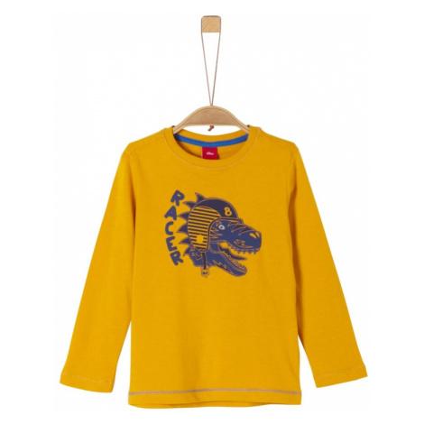 S.Oliver Junior Koszulka goryczka / żółty