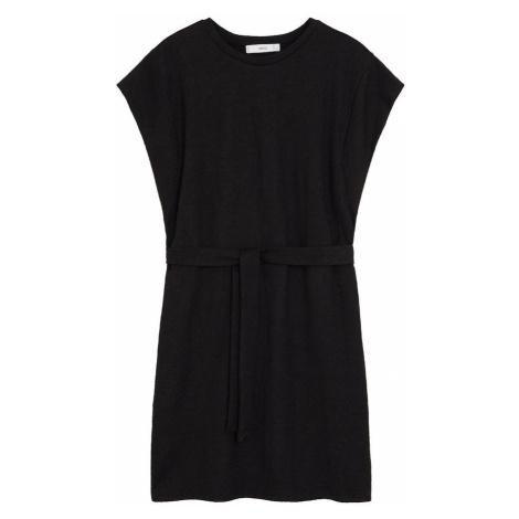 MANGO Sukienka 'Farah' czarny