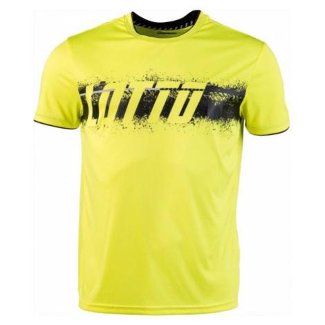 Lotto LOGO TEE PRT PL żółty L - Koszulka męska
