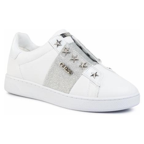 Sneakersy GUESS - Rush FL5RUS LEA12 WHITE