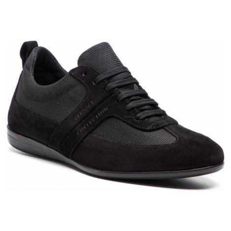 Sneakersy VERSACE COLLECTION - V900740 VM00449 V850 Nero/Nero/Fdo/Nero