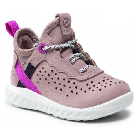 ECCO Sneakersy Sp.1 Lite Infant 72411102702 Różowy