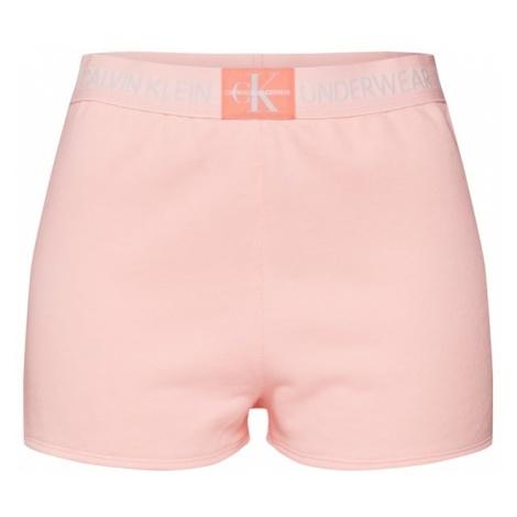 Calvin Klein Underwear Spodnie od piżamy brzoskwiniowy