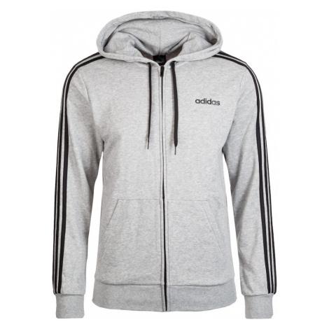 ADIDAS PERFORMANCE Bluza rozpinana sportowa czarny / nakrapiany szary