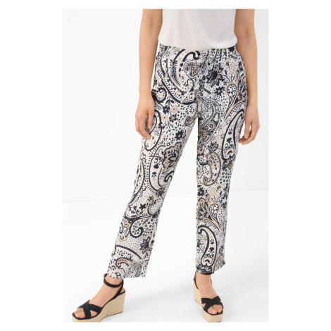 Spodnie straight ze wzorem Orsay