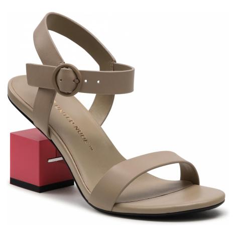 Sandały UNITED NUDE - Cube Sandal Mid 10406685156 Hummus