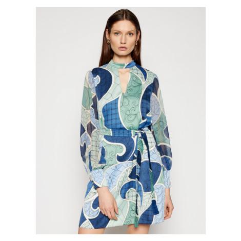 Marella Sukienka codzienna Barbian 32212511 Zielony Regular Fit