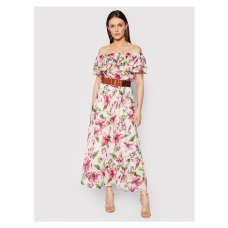 Liu Jo Sukienka letnia WA1496 T5976 Kolorowy Regular Fit