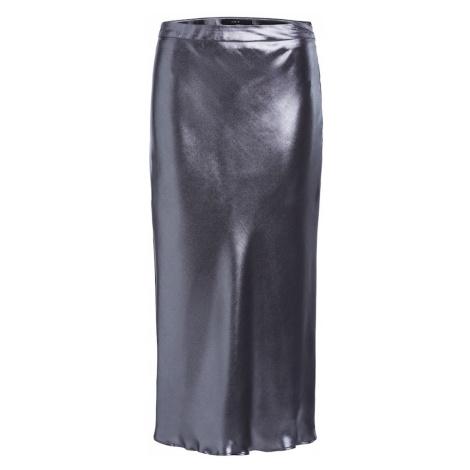 SET Spódnica srebrny