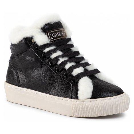 Sneakersy GUESS - Furry FI8FUR ELE12 BLACK