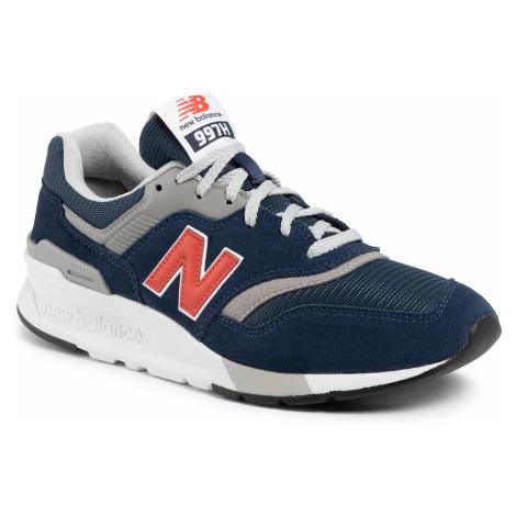 Sneakersy NEW BALANCE - CM997HAY Granatowy