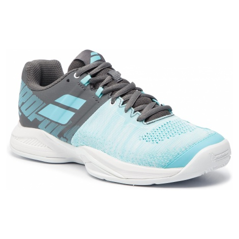 Buty BABOLAT - Propulse Blast Clay 31S19751 Grey/Blue Radiance