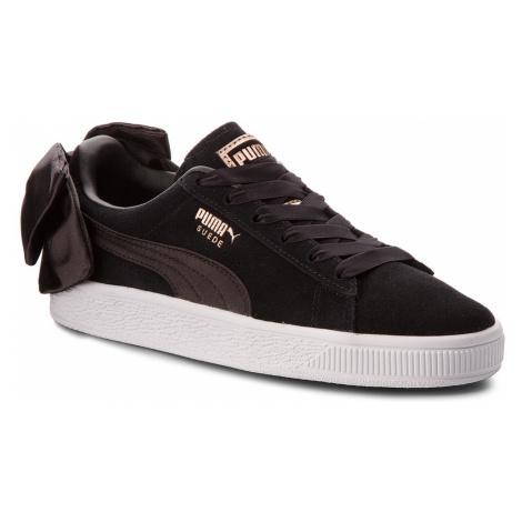 Sneakersy PUMA - Suede Bow Wn's 367317 04 Puma Black/Puma Black