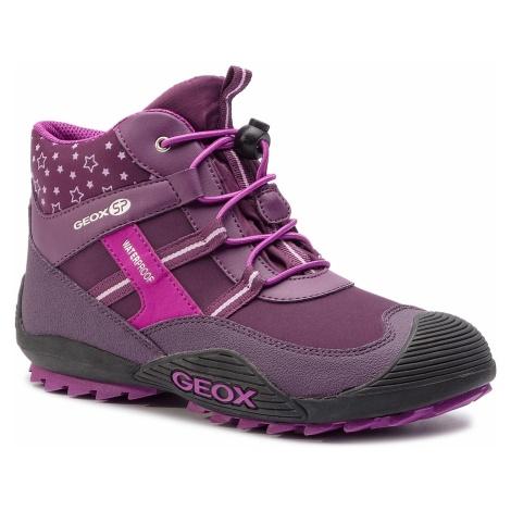 Śniegowce GEOX - J Atreus G.B Wpf A J847HA 0FU50 C8224 D Purple/Pink