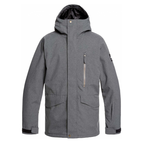 kurtka Quiksilver Mission - KRPH/Black Heather