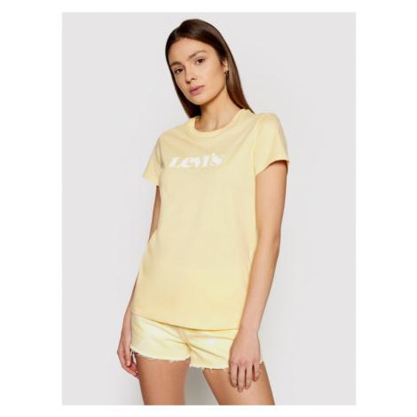 Levi's® T-Shirt The Perfect 17369-1260 Żółty Regular Fit Levi´s