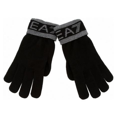 Rękawiczki Męskie EA7 EMPORIO ARMANI - 275562 8A301 00020 M Black