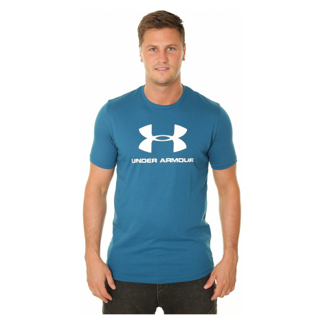 T-shirt Under Armour Sportstyle Logo - 417/Teal Vibe