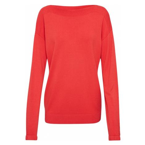 MORE & MORE Sweter pomarańczowo-czerwony