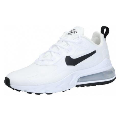 Nike Sportswear Trampki niskie 'Nike Air Max 270 React' czarny / srebrny / biały
