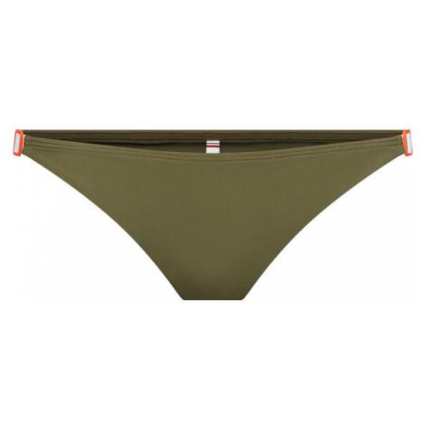 Tommy Hilfiger Dół od bikini UW0UW02124 Zielony