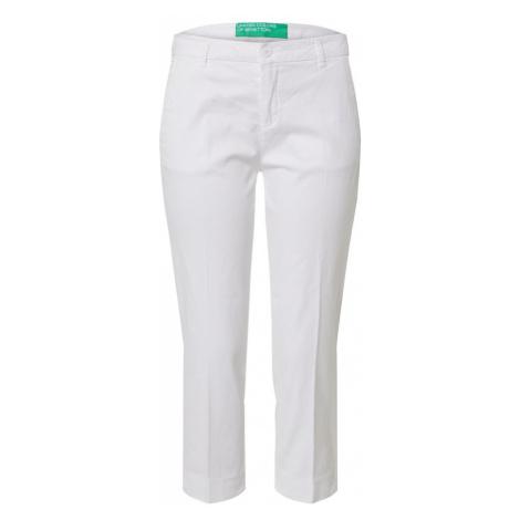 UNITED COLORS OF BENETTON Spodnie biały