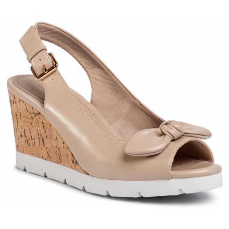 Sandały CLARA BARSON - LS5206-01 Beige