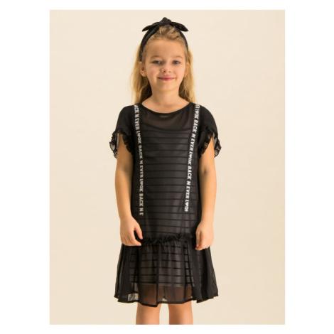 Primigi Sukienka codzienna Black Love 43113551 Czarny Regular Fit