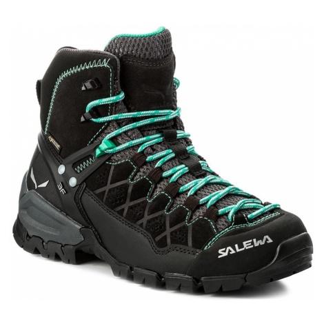 Trekkingi SALEWA - Alp Trainer Mid Gtx GORE-TEX 63433-0969 Black Out/Agata