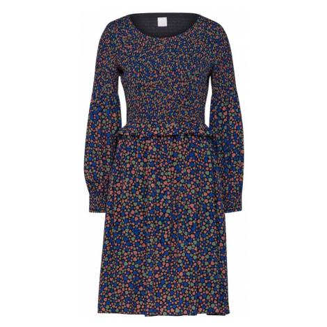 BOSS Sukienka 'Alineh' niebieska noc / mieszane kolory Hugo Boss