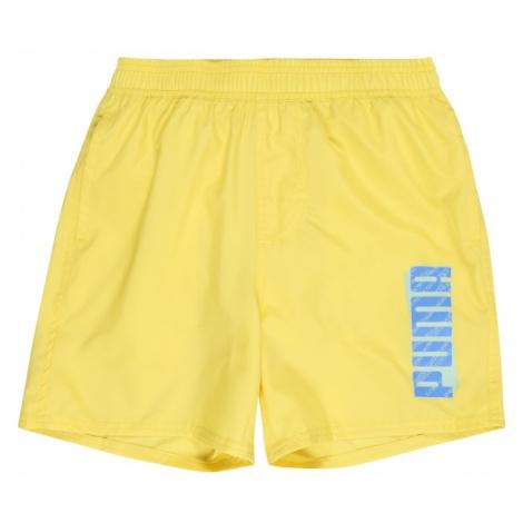 PUMA Spodnie sportowe 'ESS' żółty