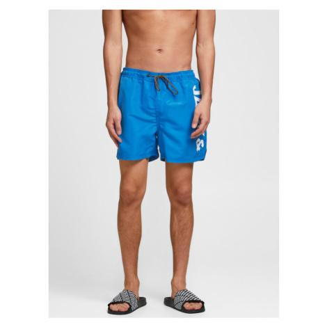 Jack&Jones Szorty kąpielowe Bali 12183806 Niebieski Regular Fit Jack & Jones
