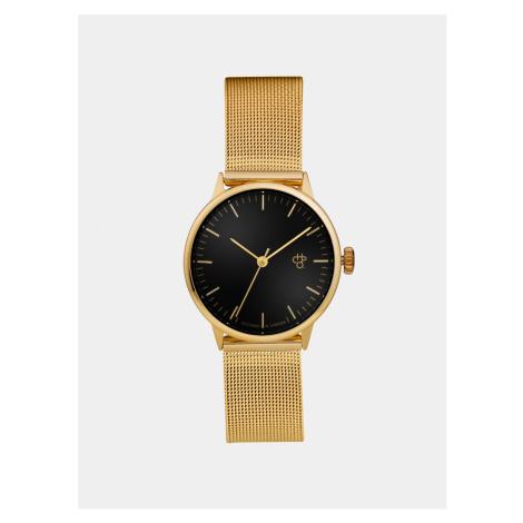 Damski zegarek z paskiem ze stali nierdzewnej w CHPO Nando Mini Gold