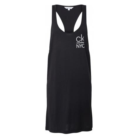 Calvin Klein Swimwear Sukienka plażowa czarny