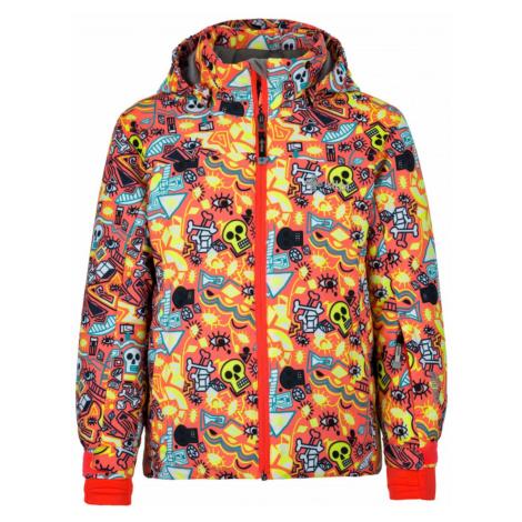 Girls' winter jacket Genovesa-jg pink - Kilpi