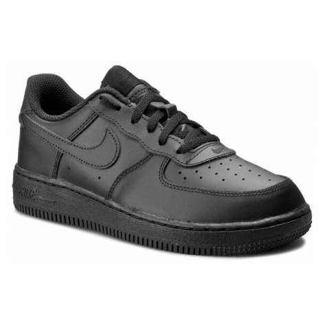 Buty NIKE - Force 1 (PS) 314193 009 Black/Black/Black