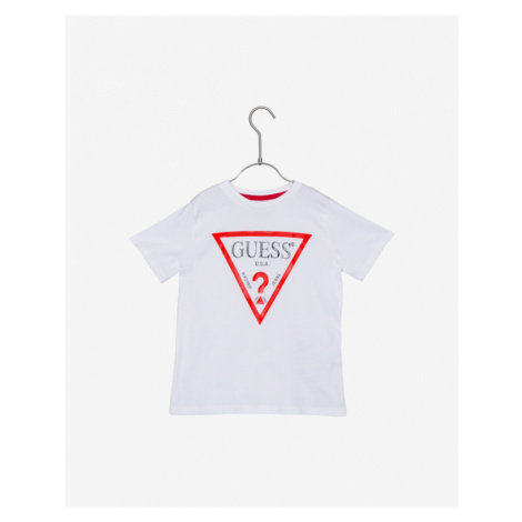 Guess Koszulka dziecięce Biały