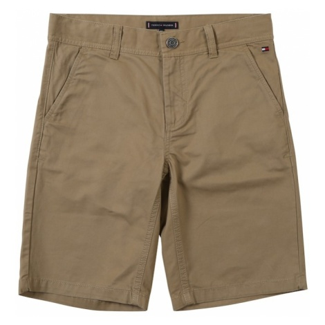 TOMMY HILFIGER Spodnie 'Essential' ciemny beż
