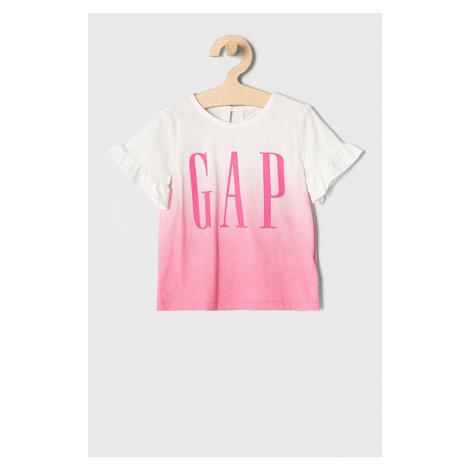 GAP - T-shirt dziecięcy 50-86 cm