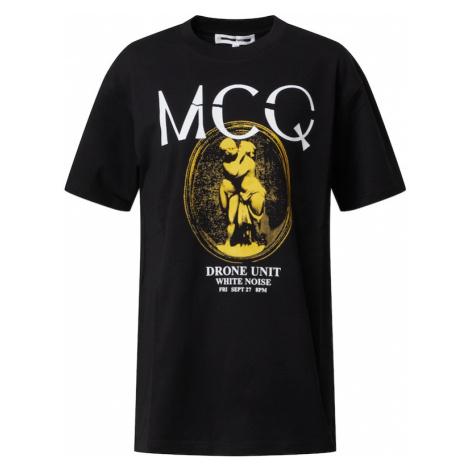 McQ Alexander McQueen Koszulka 'BOYFRIEND T-SHIRT' czarny