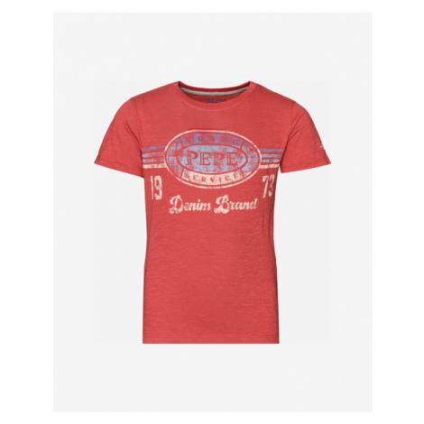 Pepe Jeans Ado Koszulka dziecięce Czerwony