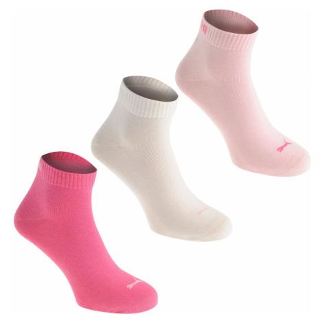Puma Quarter Socks - 3 Pack